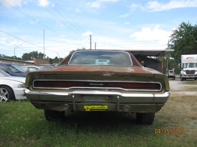 1970 DODGE CHARGER-ORIGINAL/MATCHING NUMBERS-RESTORATION