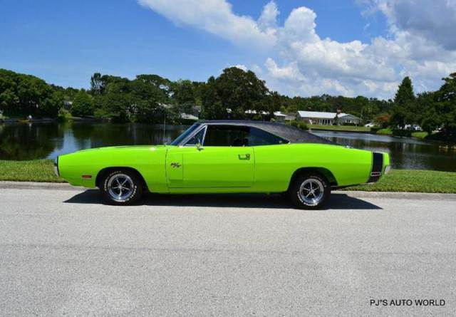 1970 Dodge Charger R T 37 559 Miles Sublime Green Coupe