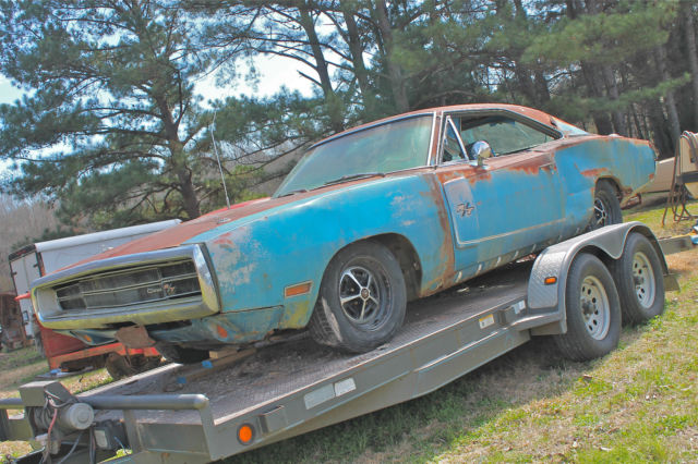 1970 Dodge Charger RT 440 4bbl Auto B5 Blue 70 Complete ...