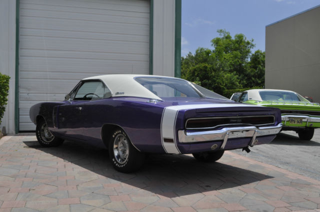 1970 dodge charger r t 440 high impact plum crazy white interior mint. Cars Review. Best American Auto & Cars Review