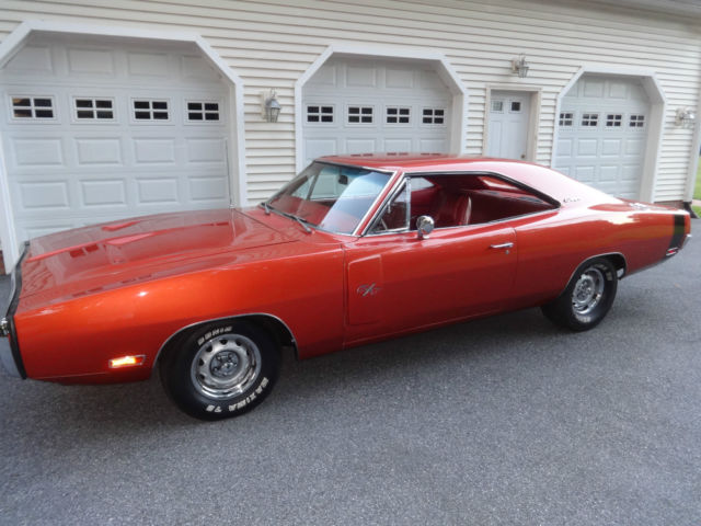 1970 Dodge Charger R/T 440 Magnum 4BBL, 375 HP, Matching ...