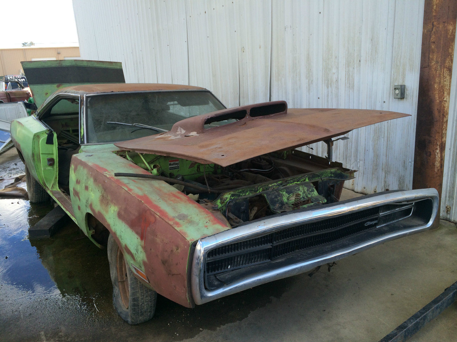 Green 1969 Dodge Charger 383 For Sale.html | Autos Weblog