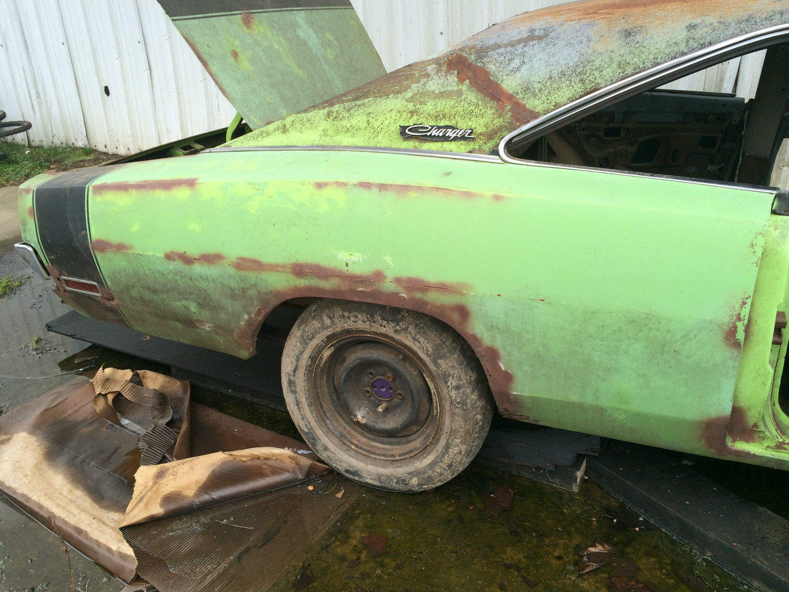Dodge Charger Rt Lime Green Project