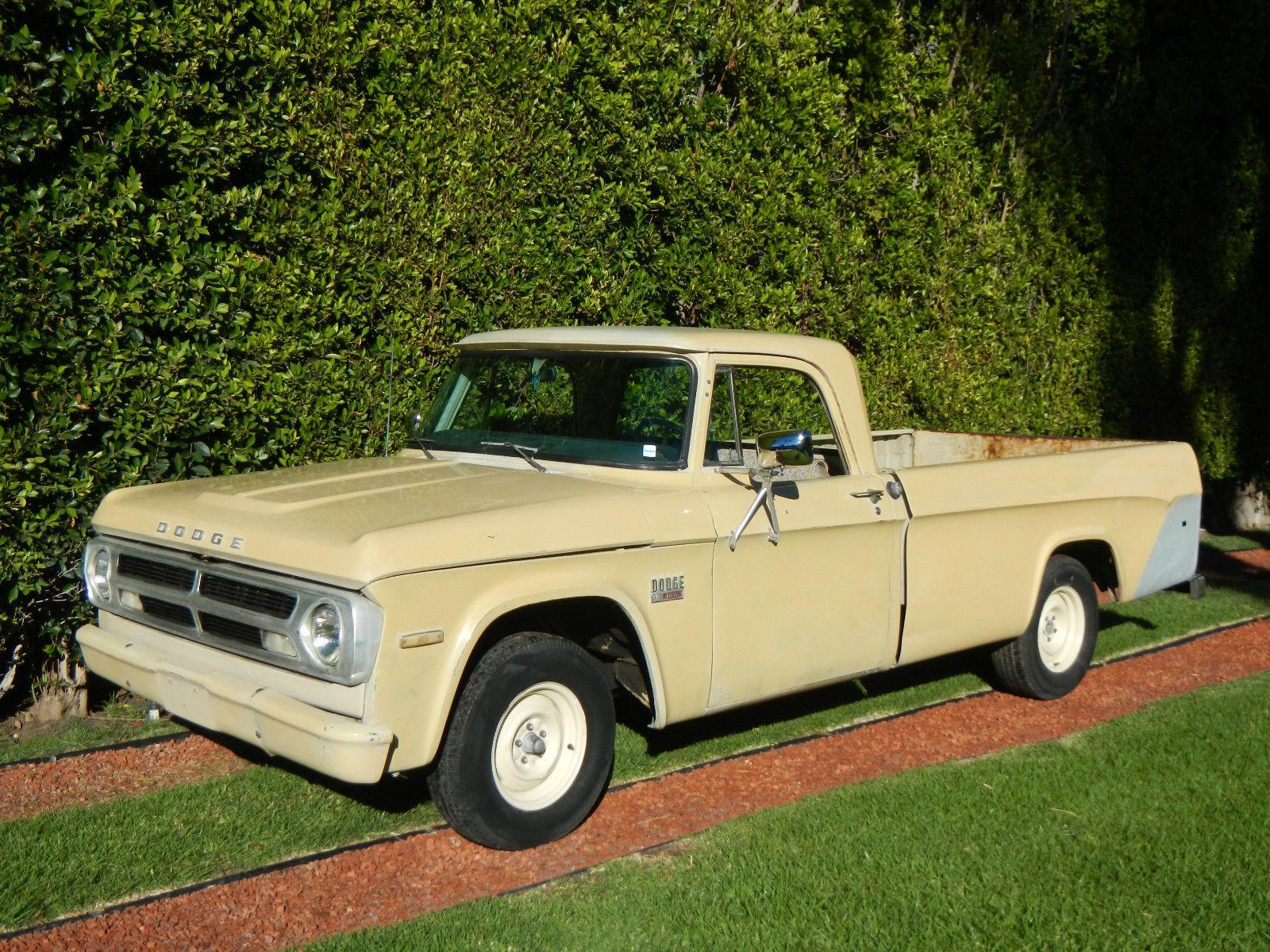 1970 dodge d100 pickup base 5 2l classic dodge other pickups 1970 for sale. Black Bedroom Furniture Sets. Home Design Ideas