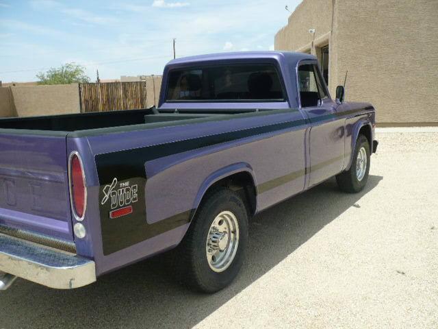 Dodge D The Dude Magnum Restored D Truck Pickup on Dodge 4 Door Pickups