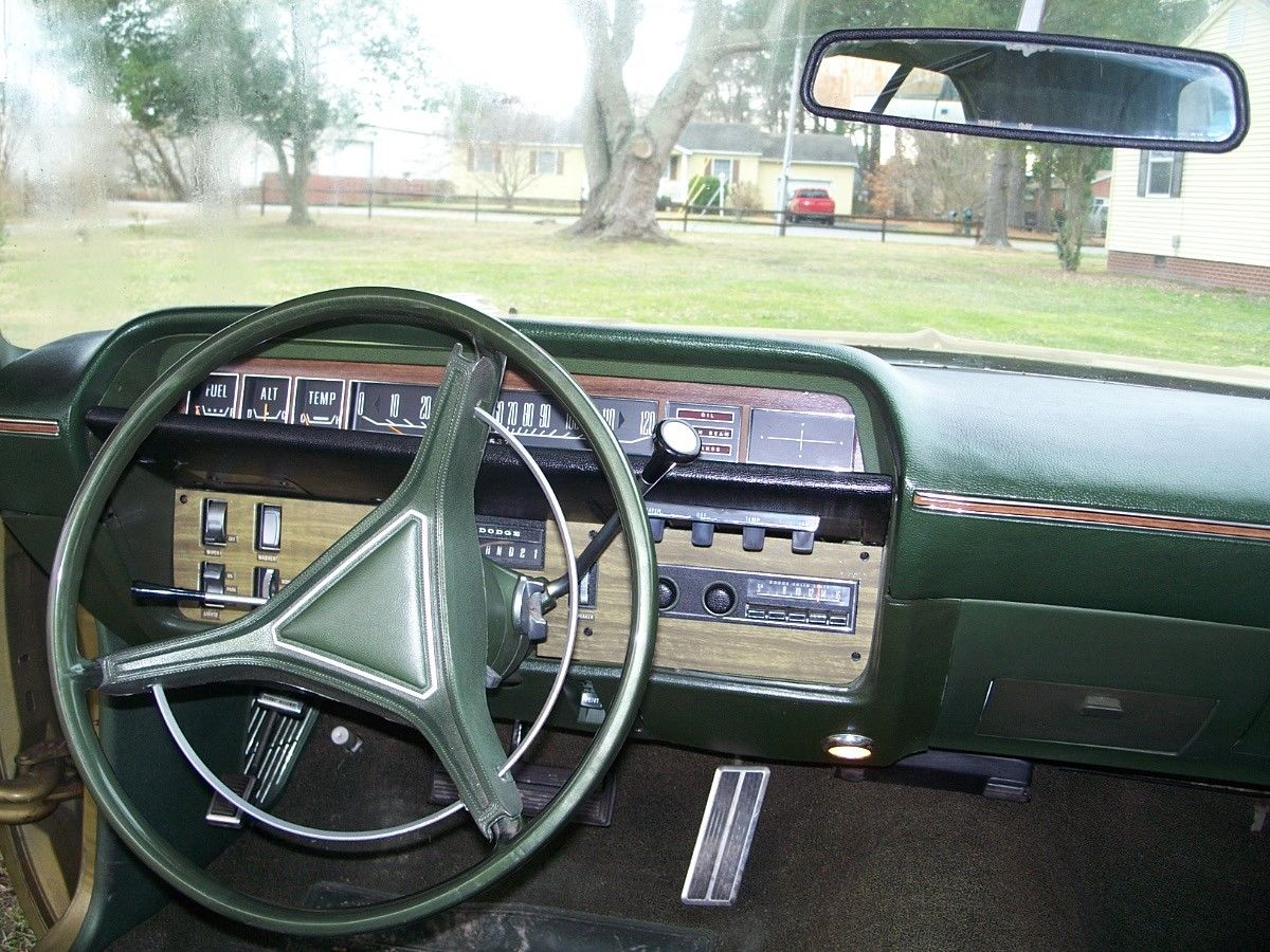 1970 Dodge Polara Original Survivor Paint And Interior