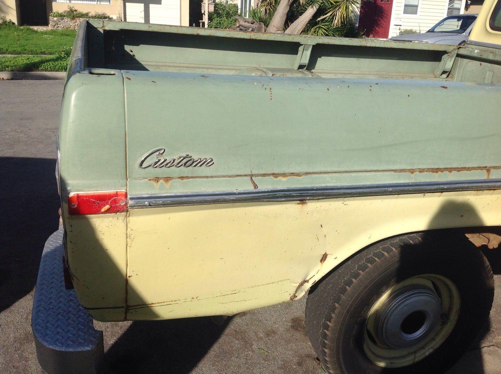 1970 F100 Ford Custom Pickup Truck A True Classic And Restorers Dream