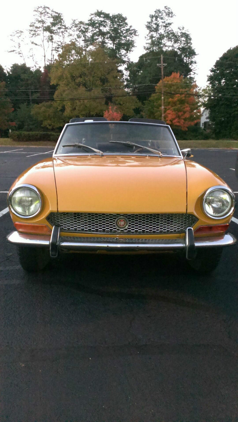 1970 Fiat 124 Sport Spider Classic Other For Sale 1971