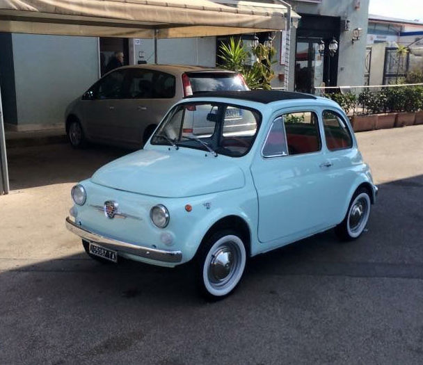 1970 fiat 500 110f model l berlina special scioneri aquamarine classic fiat 500 1970 for sale. Black Bedroom Furniture Sets. Home Design Ideas