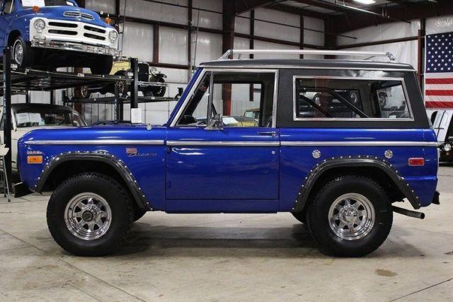 1970 Ford Bronco 28272 Miles Blue Suv 302 V8 Manual