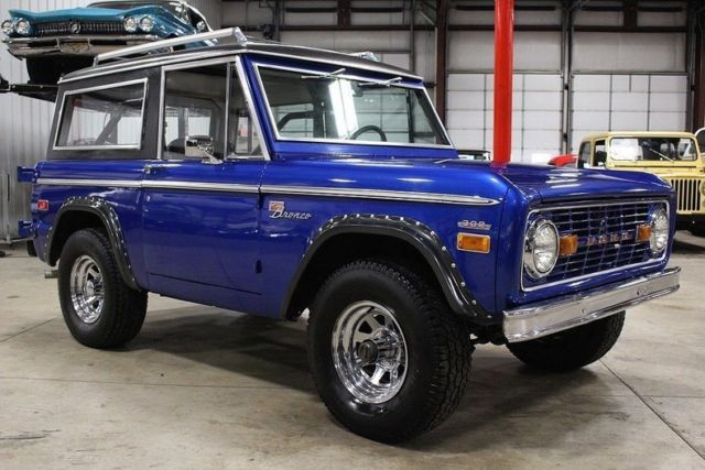 1970 Ford Bronco 28272 Miles Blue SUV 302 V8 Manual ...