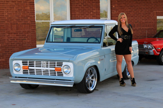 1970 Ford Bronco 302 4 Speed Disc Brakes Mustang II Front ...