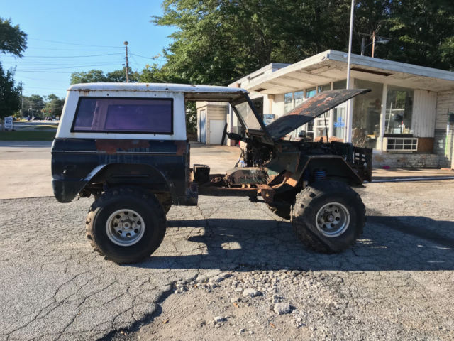 1970 Ford Bronco V8 PROJECT NEW METAL AND PARTS - Classic ...