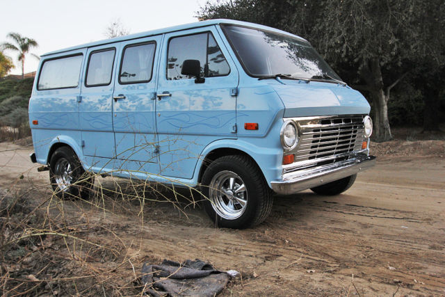 1970 ford econoline custom boogie van classic ford e series van 1970 for sale. Black Bedroom Furniture Sets. Home Design Ideas