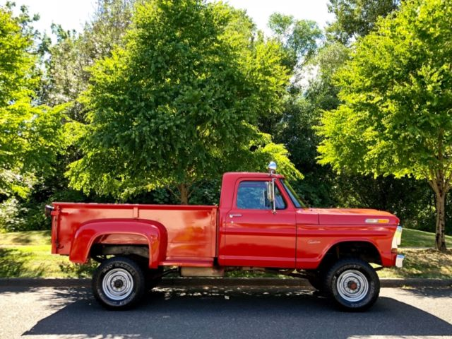 1970 ford f250 stepside longbed 1970 ford f-250 4x4 stepside long bed custom xlt ranger ...