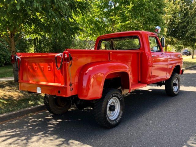 1970 ford f-250 4x4 stepside long bed custom xlt ranger ... 1970 ford f250 longbed stepside