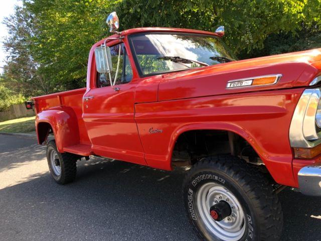 1970 ford f-250 4x4 stepside long bed custom xlt ranger ... 1970 ford f250 longbed stepside 1970 ford 302 wiring schematics #6