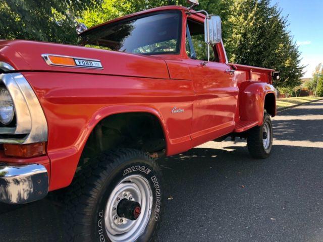 1970 ford f-250 4x4 stepside long bed custom xlt ranger ... 1970 ford f250 longbed stepside 1970 ford truck steering column wiring diagram #8