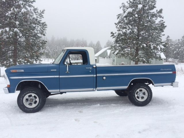 1970 ford f100 4x4 long box 360 classic ford f 100 1970 for sale. Black Bedroom Furniture Sets. Home Design Ideas