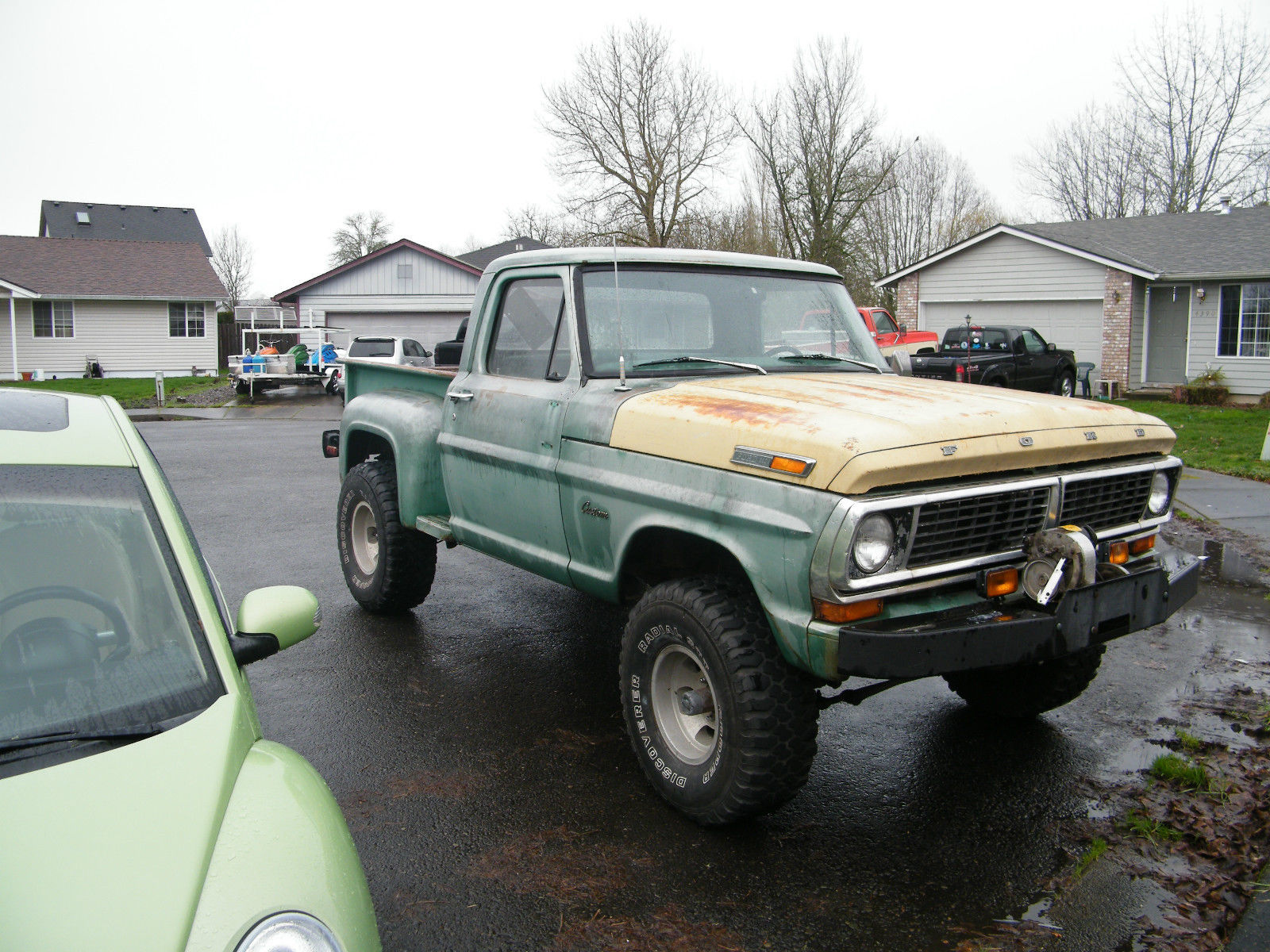 1970 Ford F100 4x4 Styleside Classic F 100 For Sale Pickup Truck