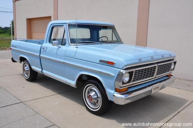 1970 Ford F100 Original Sport Custom Show Truck Car Hot