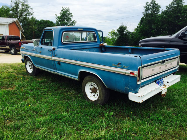 1970 ford f250 ranger factory air camper special classic. Black Bedroom Furniture Sets. Home Design Ideas