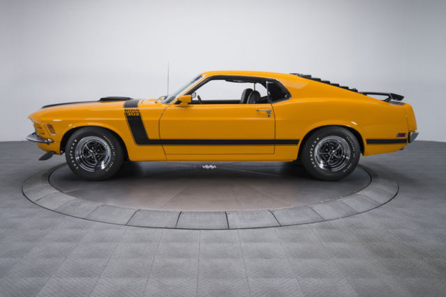 1970 ford mustang boss 302 74670 miles grabber orange fastback 302 v8 4 speed ma classic ford. Black Bedroom Furniture Sets. Home Design Ideas