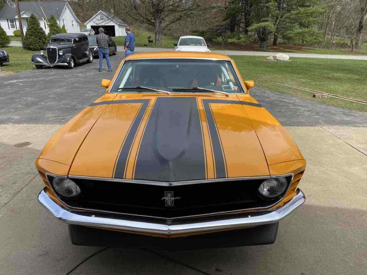 Mustang Terminator Orange