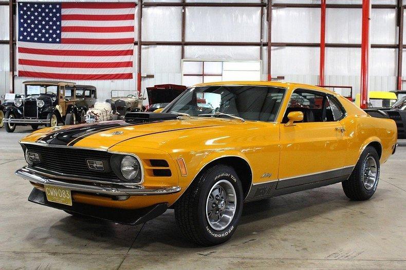 Ford Dealer Grand Rapids >> 1970 Ford Mustang Mach 1 23904 Miles Grabber Orange Coupe ...