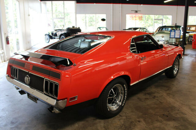 1970 Ford Mustang Mach 1 Fastback For Sale