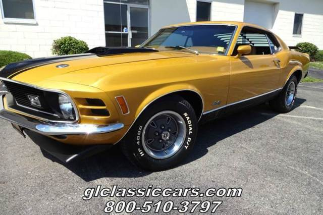 1970 Ford Mustang Mach-1 Fastback 351ci Great Condition ...
