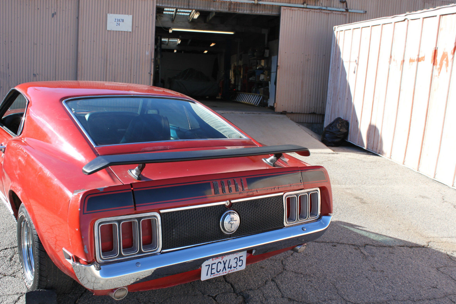 1970 Ford Mustang Mach I Fastback 2 Door 58l Classic 1 Prevnext