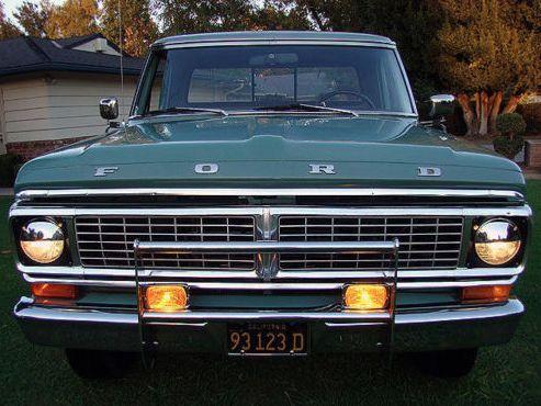 1970 ford ranger xlt f 250 camper special 390 v8 f250 f100. Black Bedroom Furniture Sets. Home Design Ideas