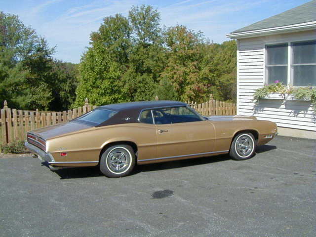 1970 ford thunderbird 2 door coupe bench seat classic. Black Bedroom Furniture Sets. Home Design Ideas
