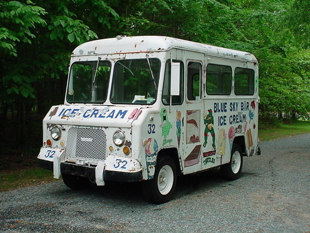1970 Ford Van Ice Cream Truck Shop Truck R V Food Truck