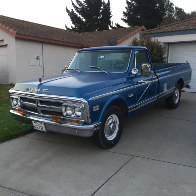 1970 gmc 2500 california truck with extended bed classic gmc custom 1970 for sale. Black Bedroom Furniture Sets. Home Design Ideas