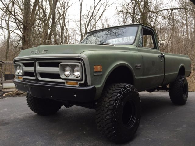 1970 gmc 3 4 ton 4wd truck classic gmc other 1970 for sale. Black Bedroom Furniture Sets. Home Design Ideas