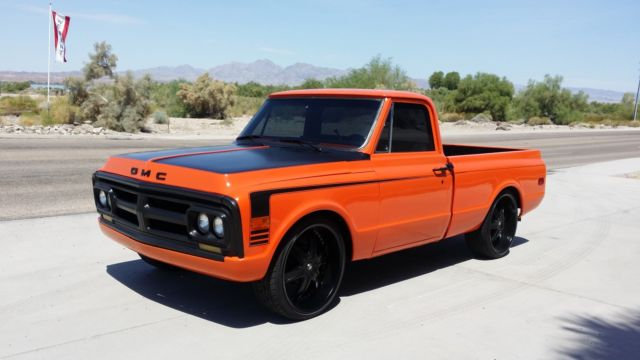 Gmc Pickup Short Bed Truck Chevy C on 1972 chevy c10 pick up