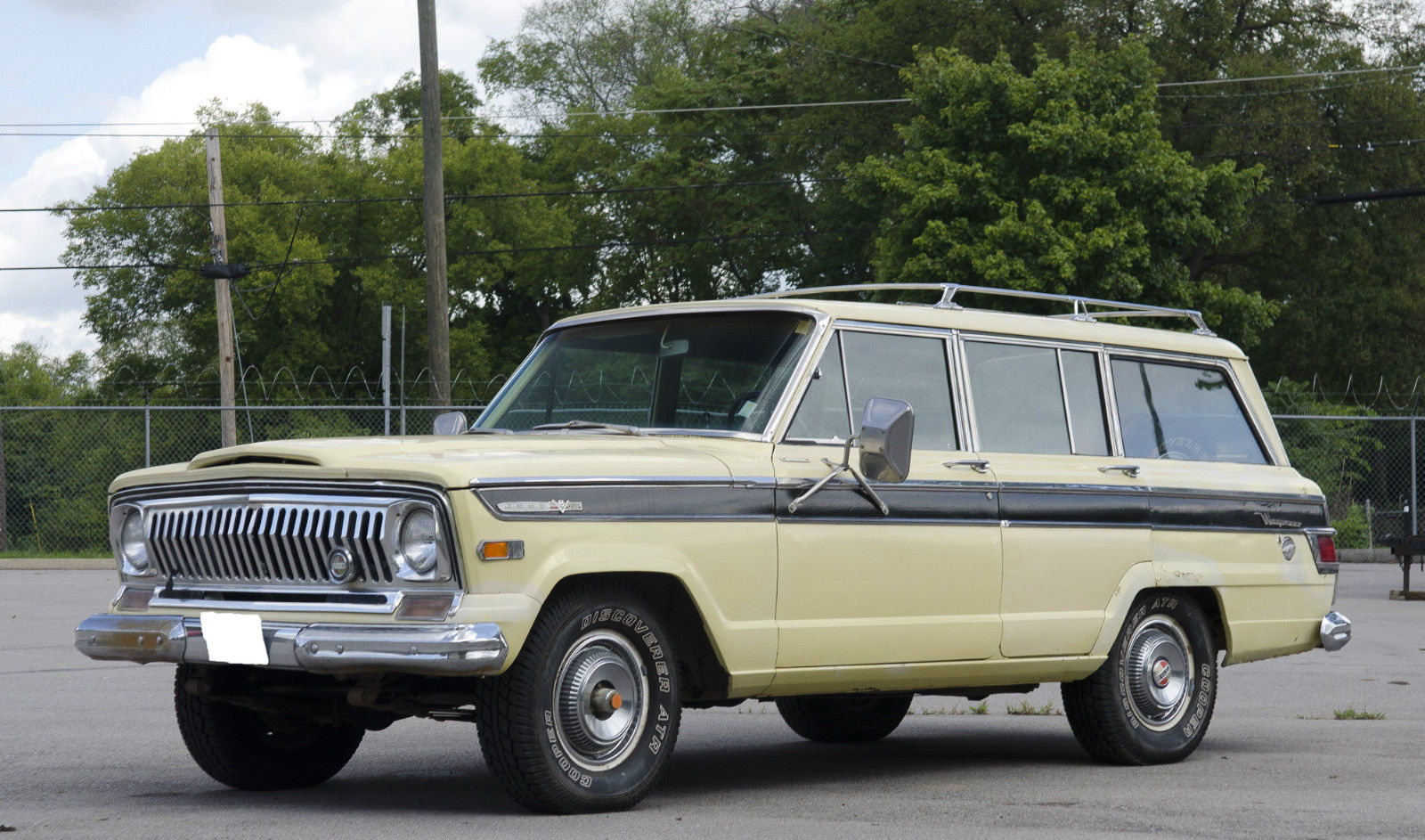 1970 jeep grand wagoneer project car classic jeep wagoneer 1970 for sale. Black Bedroom Furniture Sets. Home Design Ideas