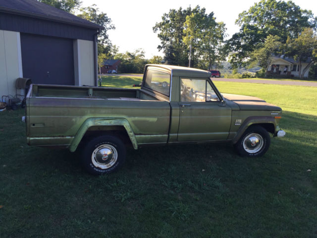 bed pick up truck   low miles   classic jeep other 1970 for sale