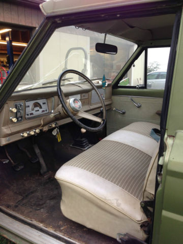 Jeep With Truck Bed >> 1970 Jeep J-2000 Gladiator Short Bed Pick-Up Truck - Low ...