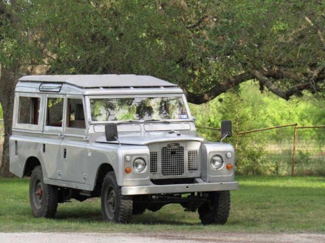 1970 Land Rover Series 2a 109 U0026quot  5 Door Safari Top Wagon