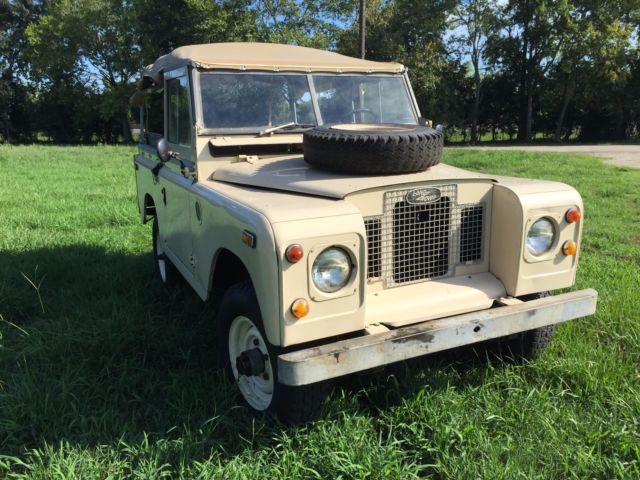 1970 land rover series 2a classic land rover series 2a 1970 for sale. Black Bedroom Furniture Sets. Home Design Ideas