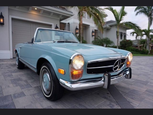 Vehicle Value By Vin >> 1970 Mercedes-Benz 280SL Pagoda - Great Driver, 4-Speed ...