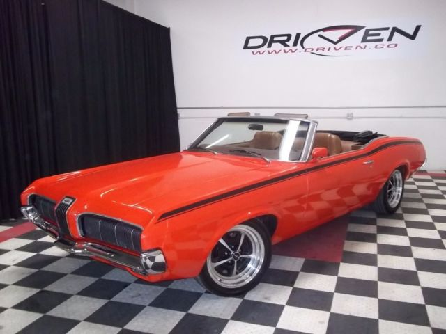 1970 Mercury Cougar Xr 7 Convertible Leather Fresh Paint