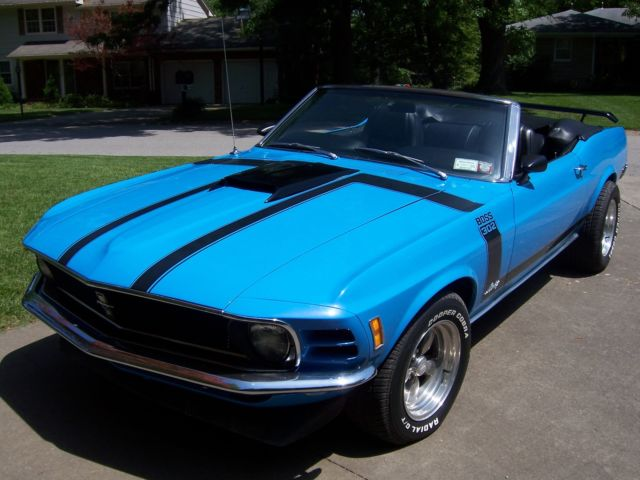 1970 mustang convertible 302 boss clone classic ford mustang 1970 for sale. Black Bedroom Furniture Sets. Home Design Ideas