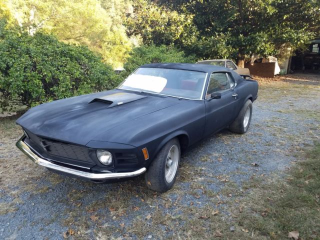 1970 Mustang Fastback 351 Ci For Sale