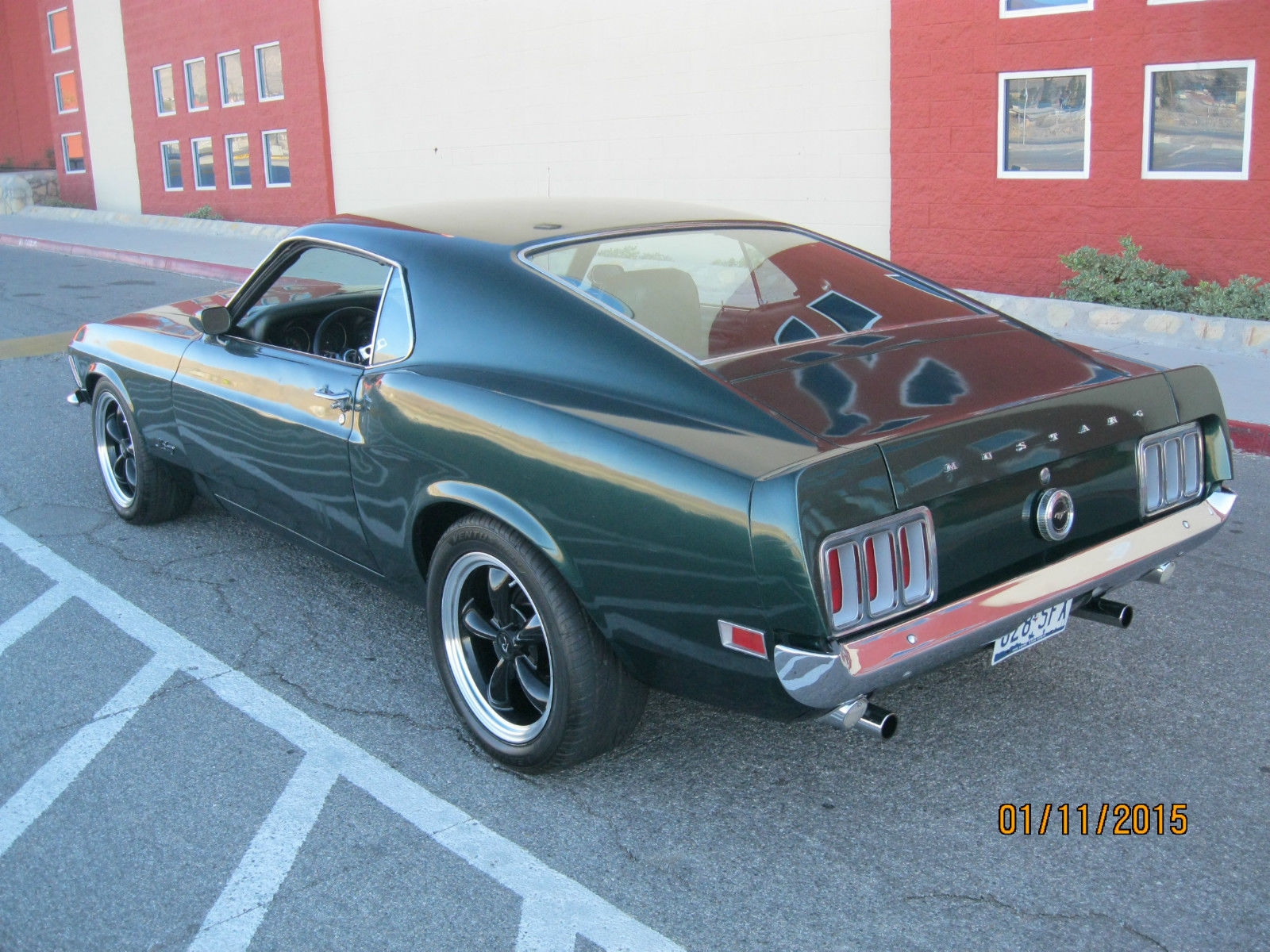 1970 Mustang Fastback California Custom High Performance 302 Ford Gt Bullit Classic For Sale
