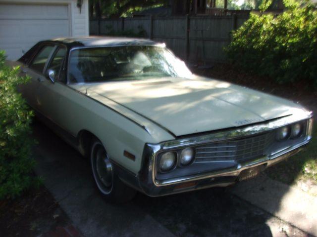 Jacks Used Cars >> 1970 New Yorker 88,000 mile estate find 440 TNT 323 posi ac big block radiator - Classic ...
