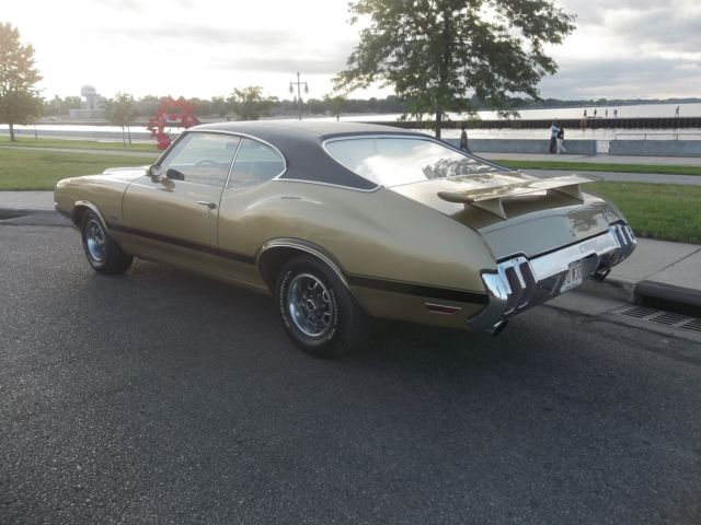 1970 Oldsmobile 442 original numbers matching Big Block 455